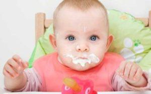 Fases de alimentación en bebés