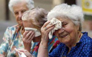 La insolación en ancianos