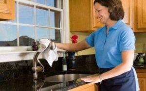 Funciones de la empleada del hogar