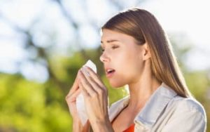 Cómo Curar la alergia al polen